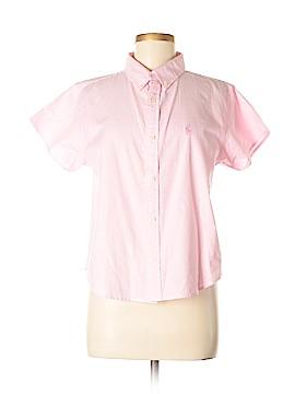Ralph Lauren Blue Label Short Sleeve Button-Down Shirt Size M