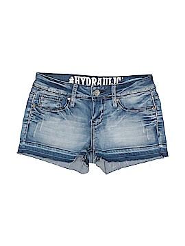 Hydraulic Denim Shorts Size 7 - 8