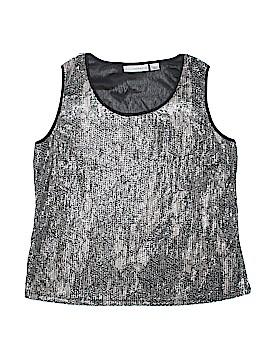 Sag Harbor Sleeveless Blouse Size XL