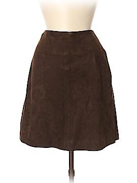 Emporio Armani Leather Skirt Size 42 (EU)