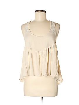 Peach Royal Sleeveless Blouse Size S