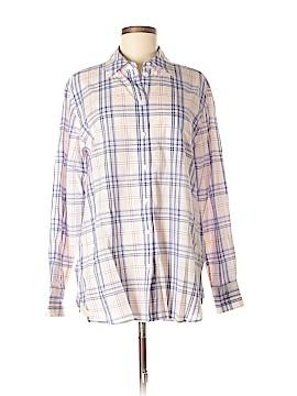 Equipment Long Sleeve Button-Down Shirt Size M