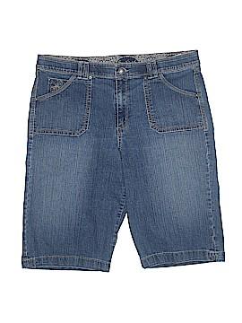 Gloria Vanderbilt Denim Shorts Size 16