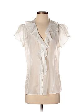 Banana Republic Factory Store Short Sleeve Silk Top Size M