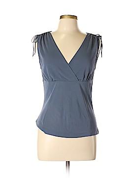 Anne Klein Short Sleeve Silk Top Size M