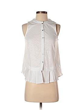 Meadow Rue Sleeveless Button-Down Shirt Size XS