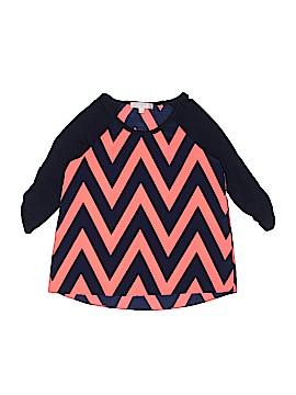 Moa Moa Girls 3/4 Sleeve Blouse Size M (Kids)