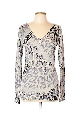 Charlotte Silk Pullover Sweater Size XL