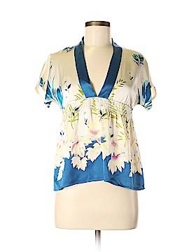 Yumi Kim Short Sleeve Silk Top Size XS