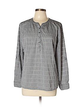 Talbots Long Sleeve Blouse Size L