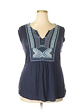 Lucky Brand Sleeveless Top Size 2X (Plus)
