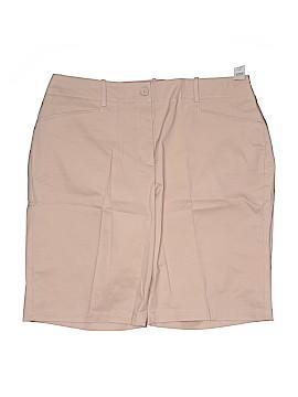 Talbots Khaki Shorts Size 16W