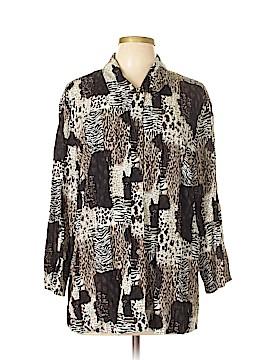 Koret Long Sleeve Blouse Size XL