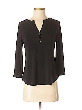Dana Buchman Long Sleeve Button-Down Shirt Size S (Petite)