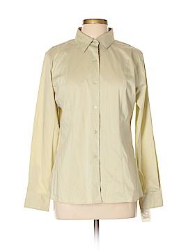 Foxcroft Long Sleeve Button-Down Shirt Size 10