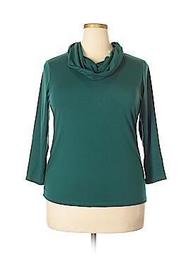 Peter Nygard 3/4 Sleeve T-Shirt Size XL