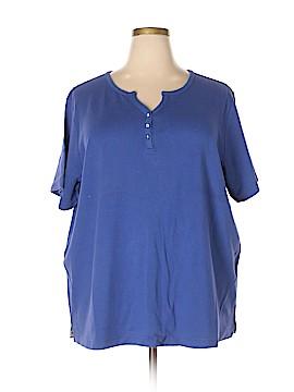 Quacker Factory Short Sleeve T-Shirt Size 3X (Plus)