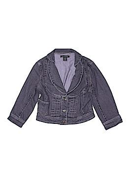 Heart Moon Star Denim Jacket Size M