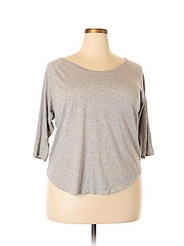Fabletics 3/4 Sleeve T-Shirt Size XXL