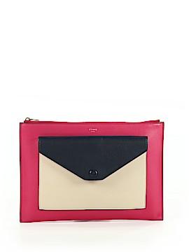 Céline Leather Clutch One Size
