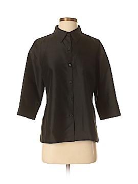 Lauren by Ralph Lauren 3/4 Sleeve Silk Top Size 8 (Petite)