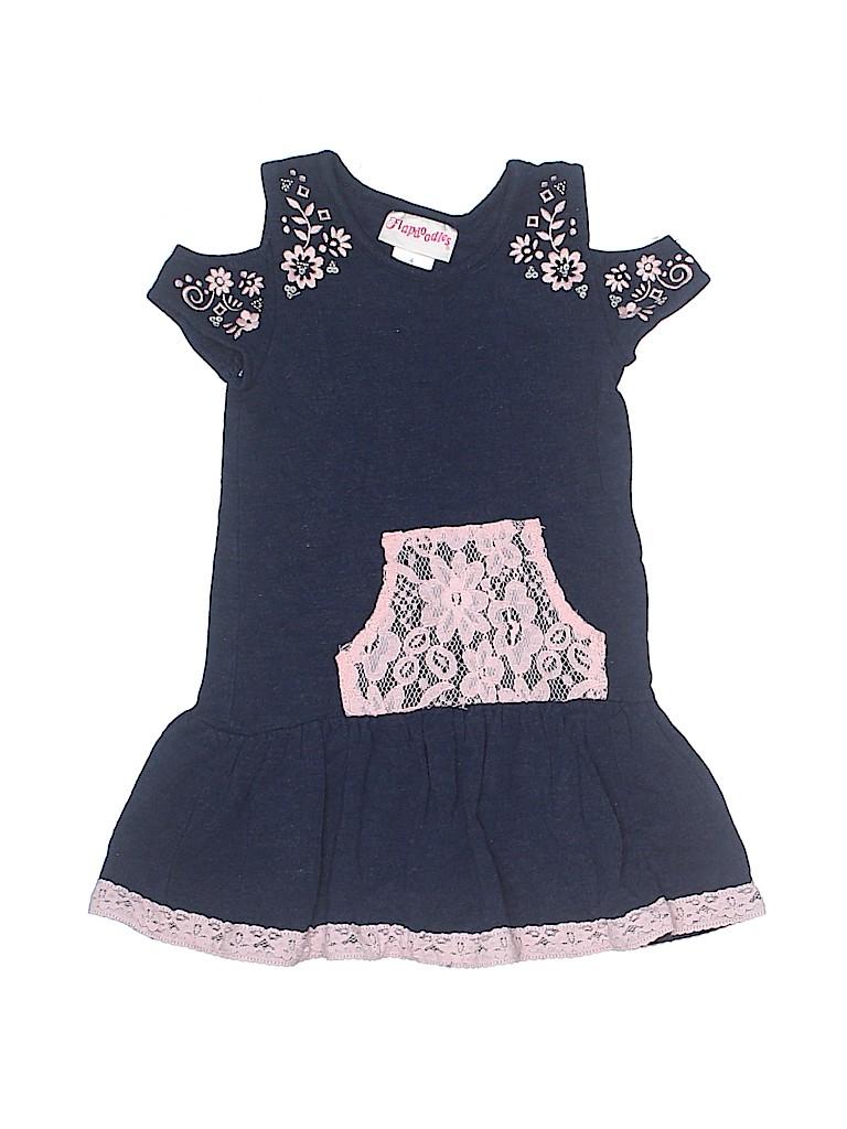 Flapdoodles Lace Navy Blue Dress Size 4 82 Off Thredup