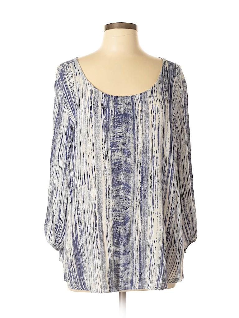 Le Lis Women 3/4 Sleeve Blouse Size M