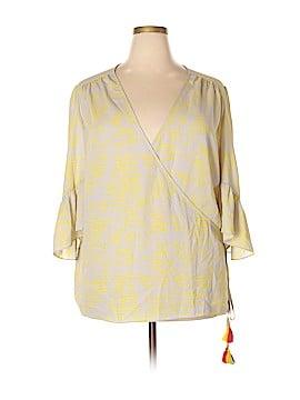 Melissa McCarthy Seven7 3/4 Sleeve Blouse Size 3X (Plus)