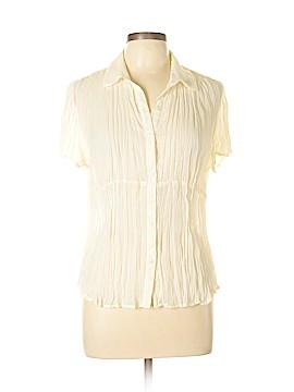 Allison Taylor Short Sleeve Blouse Size L
