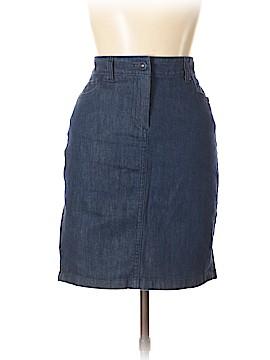 Ann Taylor Factory Denim Skirt Size 10 (Petite)