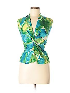 Jones New York Signature Sleeveless Silk Top Size L