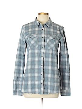 BKE Long Sleeve Button-Down Shirt Size L