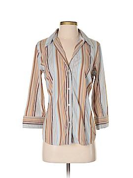 Paniz 3/4 Sleeve Button-Down Shirt Size M