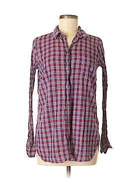 J. Crew Long Sleeve Button-Down Shirt Size 6 (Tall)