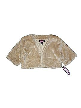 Say What? Faux Fur Vest Size L (Youth)