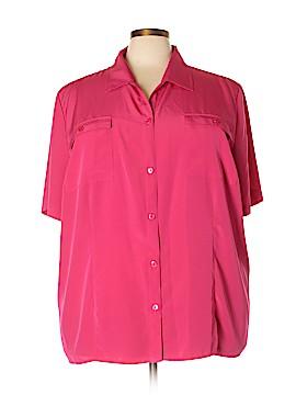 Maggie Barnes Short Sleeve Blouse Size 3X (Plus)