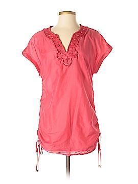 Etcetera Short Sleeve Blouse Size 4