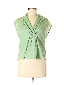 Talbots Short Sleeve Blouse Size 8 (Petite)