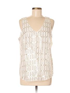 Betsey Johnson Sleeveless Silk Top Size M