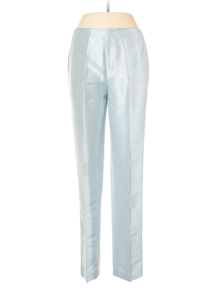 Linda Allard Ellen Tracy Women Silk Pants Size 8
