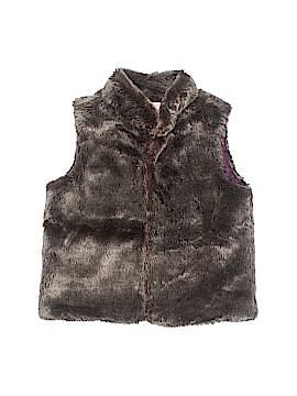 Crazy 8 Faux Fur Vest Size 7 - 8