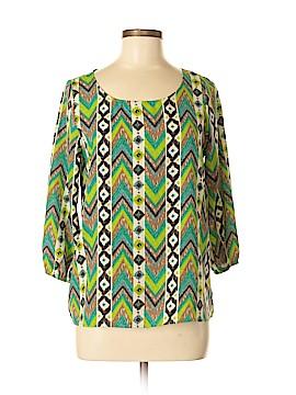 Newbury Kustom 3/4 Sleeve Blouse Size M
