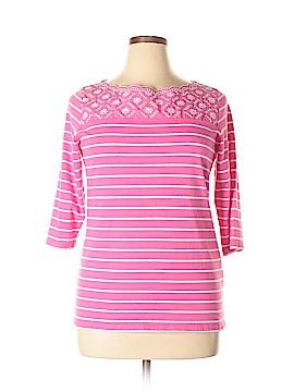 Alia 3/4 Sleeve T-Shirt Size L