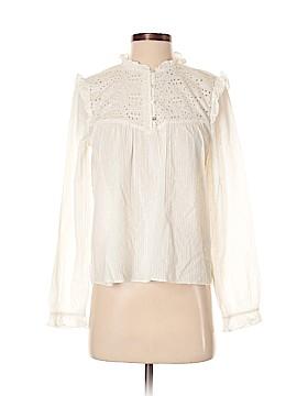 Zara TRF Long Sleeve Button-Down Shirt Size XS