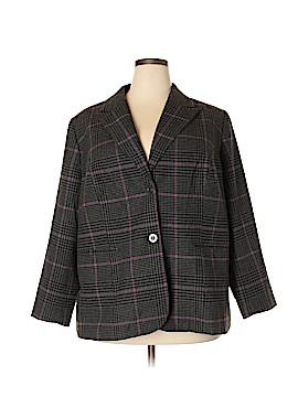 Jessica London Wool Coat Size 22 (Plus)