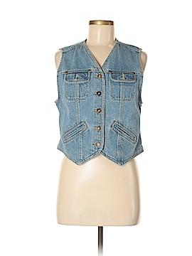 Liz Claiborne Denim Vest Size 6 (Petite)
