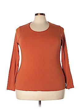 SOFFE Long Sleeve T-Shirt Size 2X (Plus)