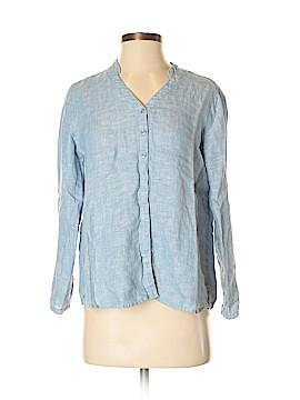 JM Collection Long Sleeve Blouse Size 4 (Petite)