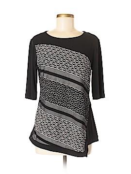 Roz & Ali Short Sleeve Top Size M