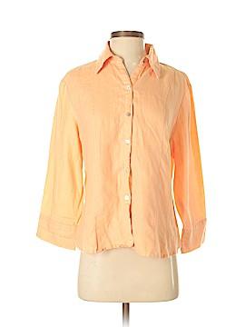 Richard Malcom 3/4 Sleeve Button-Down Shirt Size L